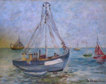 Bateaux de pêche à Bonne Anse