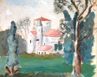 Ebauche de l'Eglise de Vaux
