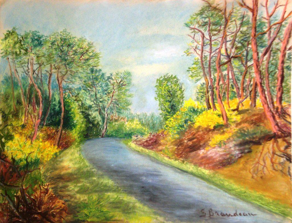 Forêt de la Coubre à Pâques