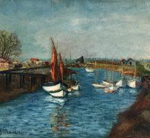 Le port de L'Eguille