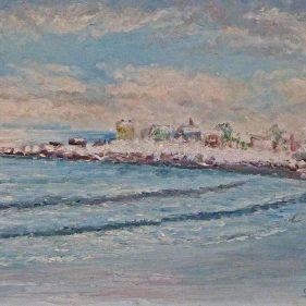 Pointe de Vaux sous la neige