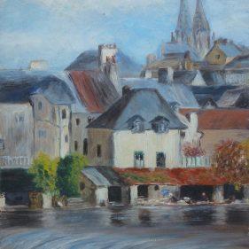 Barrage de la Vire à Saint-Lô