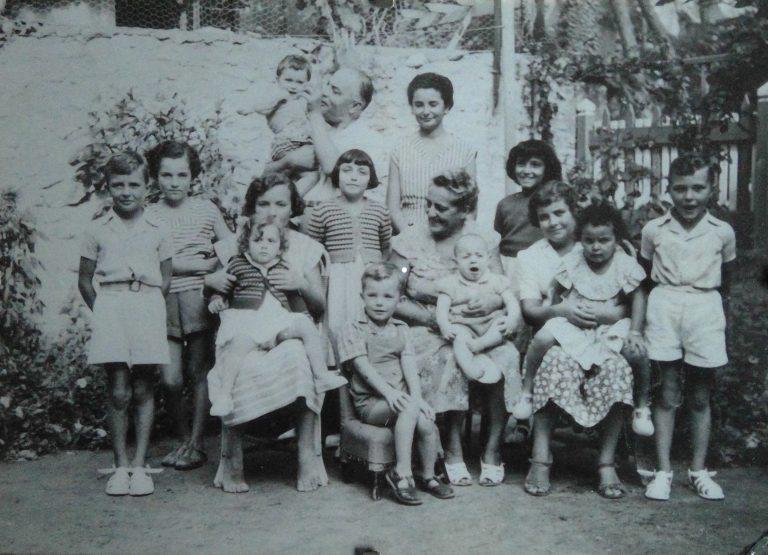 Pontaillac au jardin - 1950